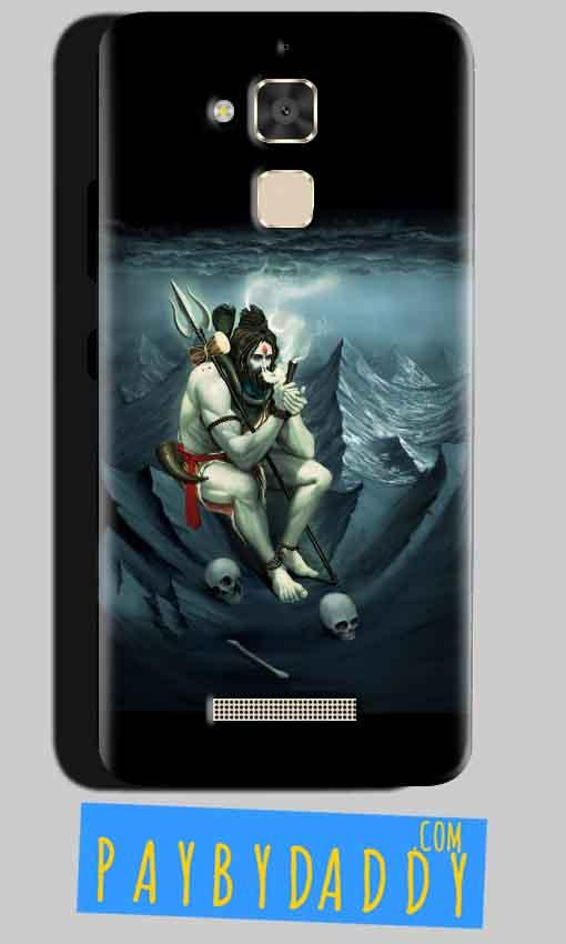 Asus Zenfone 3 Max Mobile Covers Cases Shiva Smoking - Lowest Price - Paybydaddy.com