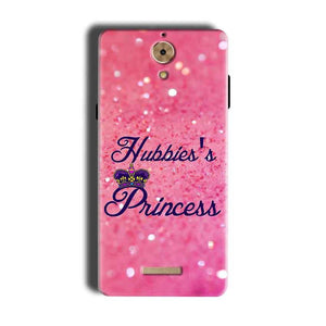 Coolpad Mega 2.5D Mobile Covers Cases Hubbies Princess - Lowest Price - Paybydaddy.com