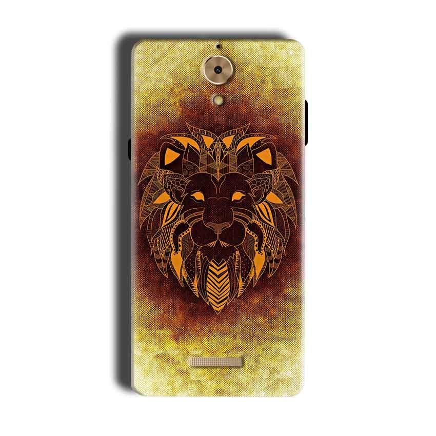 Coolpad Mega 2.5D Mobile Covers Cases Lion face art - Lowest Price - Paybydaddy.com