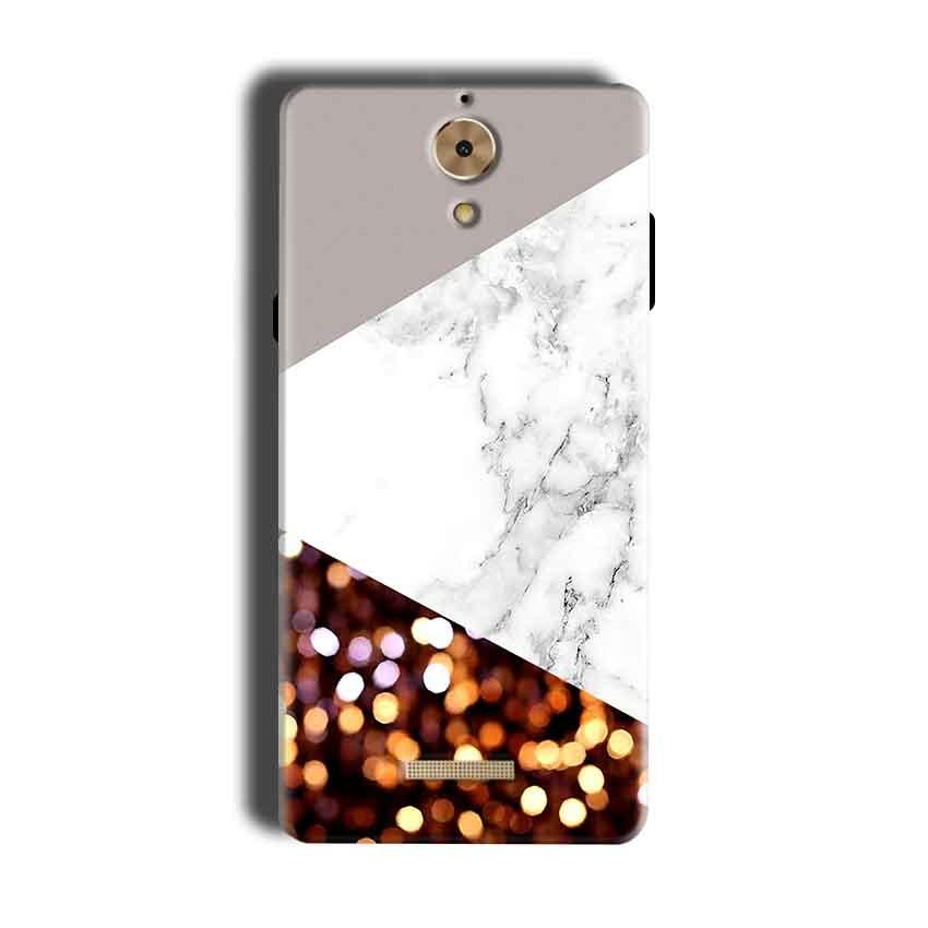 Coolpad Mega 2.5D Mobile Covers Cases MARBEL GLITTER - Lowest Price - Paybydaddy.com