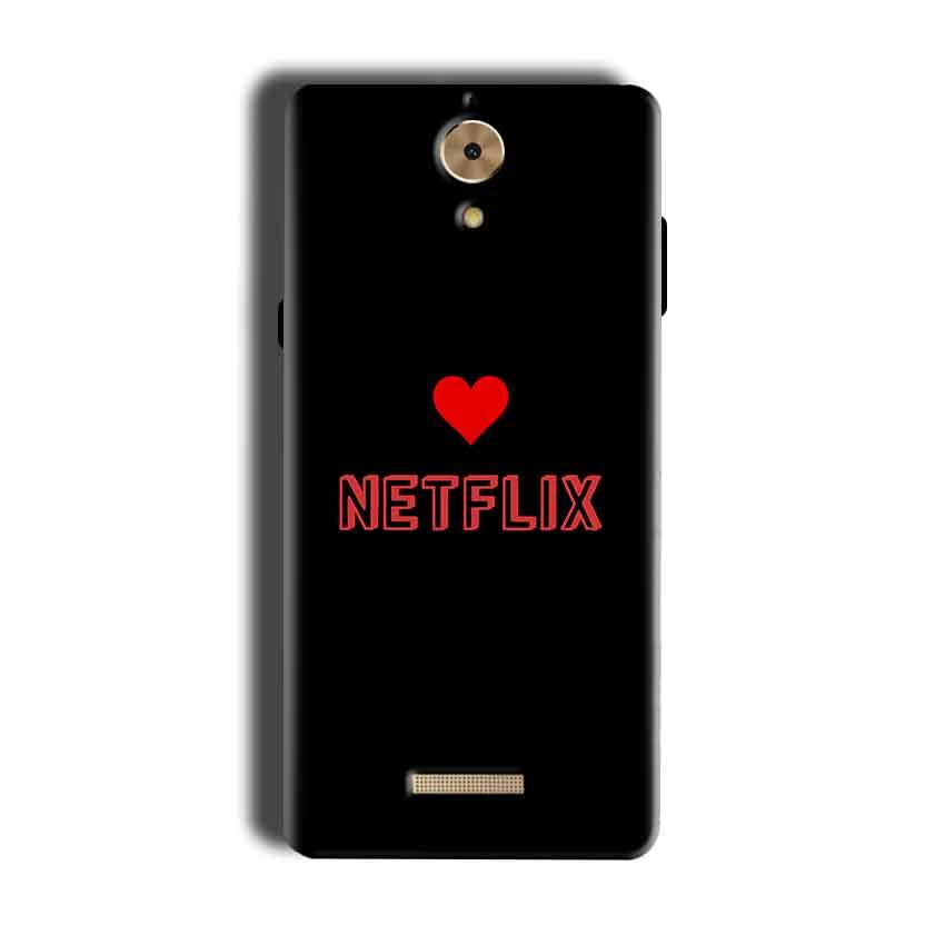 Coolpad Mega 2.5D Mobile Covers Cases NETFLIX WITH HEART - Lowest Price - Paybydaddy.com