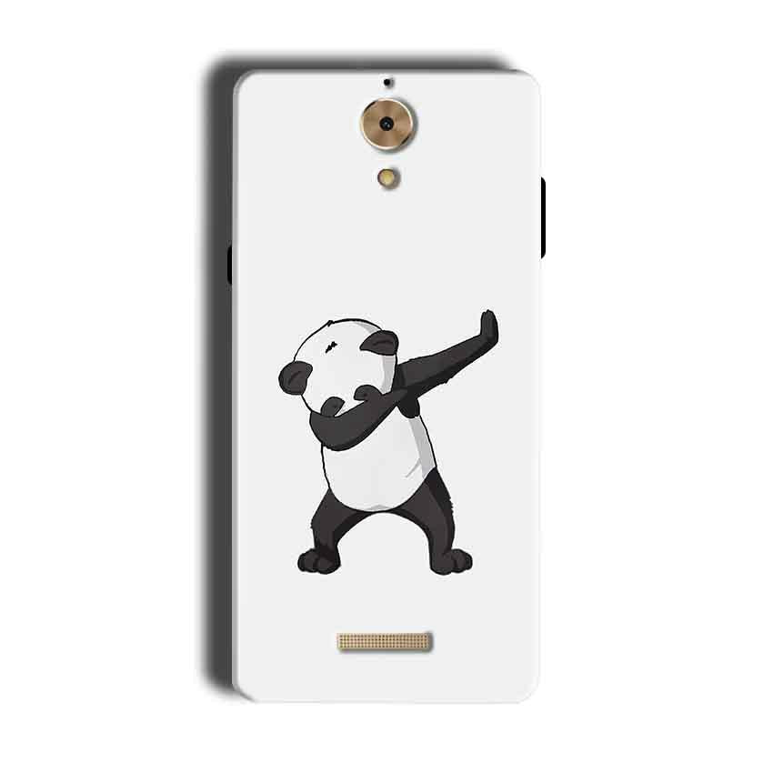 Coolpad Mega 2.5D Mobile Covers Cases Panda Dab - Lowest Price - Paybydaddy.com