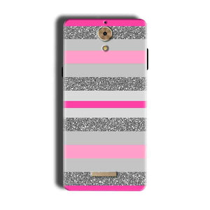 Coolpad Mega 2.5D Mobile Covers Cases Pink colour pattern - Lowest Price - Paybydaddy.com