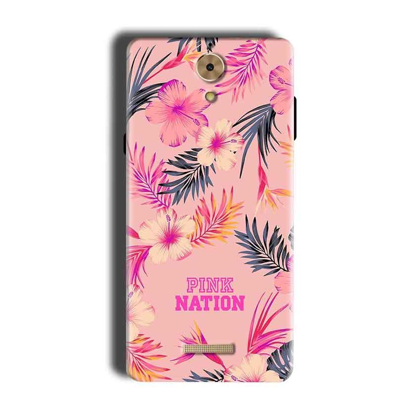 Coolpad Mega 2.5D Mobile Covers Cases Pink nation - Lowest Price - Paybydaddy.com