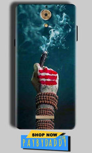 Coolpad Mega 2.5D Mobile Covers Cases Shiva Hand With Clilam - Lowest Price - Paybydaddy.com