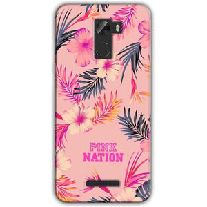 Gionee A1 Lite Mobile Covers Cases Pink nation - Lowest Price - Paybydaddy.com