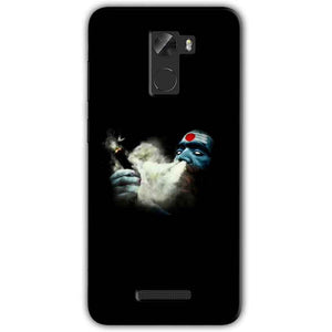 Gionee A1 Lite Mobile Covers Cases Shiva Aghori Smoking - Lowest Price - Paybydaddy.com