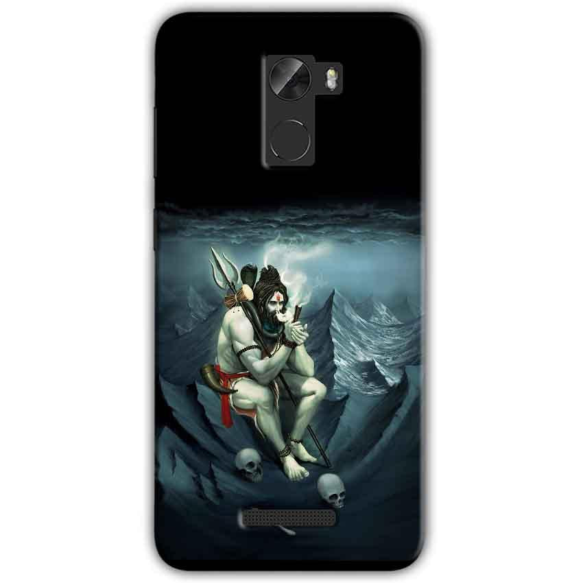 Gionee A1 Lite Mobile Covers Cases Shiva Smoking - Lowest Price - Paybydaddy.com