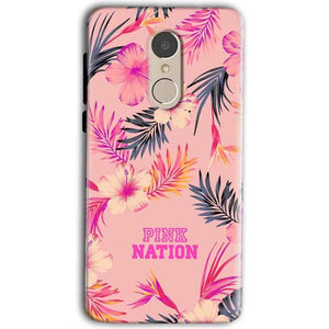Gionee A1 Mobile Covers Cases Pink nation - Lowest Price - Paybydaddy.com