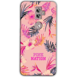 Gionee A1 Plus Mobile Covers Cases Pink nation - Lowest Price - Paybydaddy.com