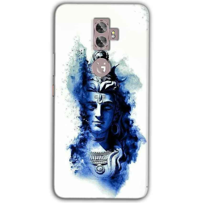 Gionee A1 Plus Mobile Covers Cases Shiva Blue White - Lowest Price - Paybydaddy.com