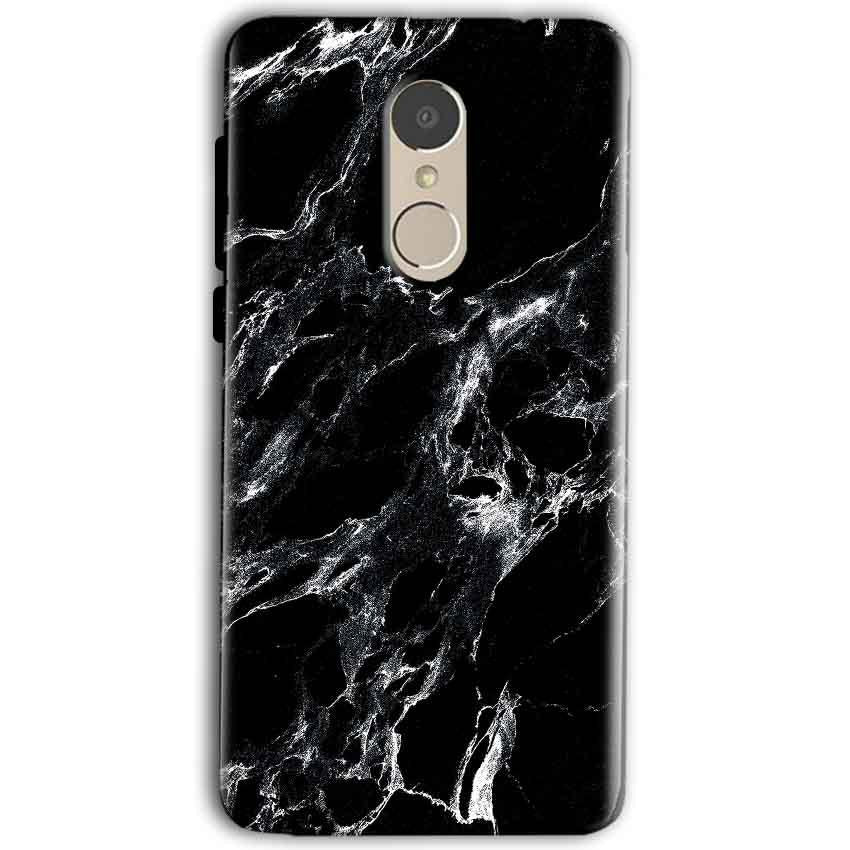 Gionee A1 Mobile Covers Cases Pure Black Marble Texture - Lowest Price - Paybydaddy.com