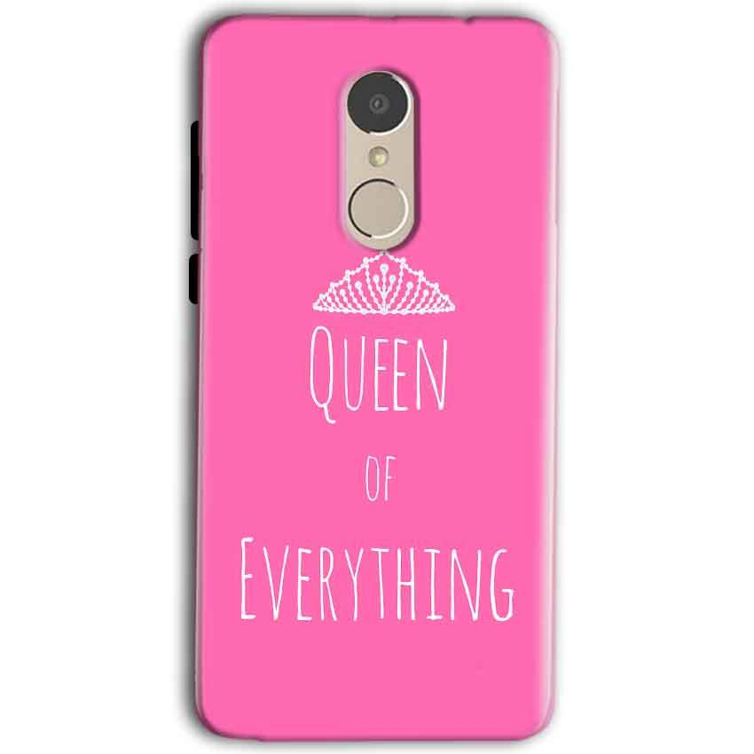 Gionee A1 Mobile Covers Cases Queen Of Everything Pink White - Lowest Price - Paybydaddy.com