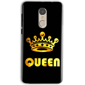 Gionee A1 Mobile Covers Cases Queen With Crown in gold - Lowest Price - Paybydaddy.com