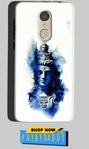 Gionee A1 Mobile Covers Cases Shiva Blue White - Lowest Price - Paybydaddy.com