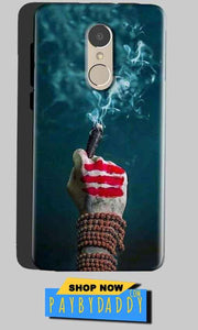 Gionee A1 Mobile Covers Cases Shiva Hand With Clilam - Lowest Price - Paybydaddy.com