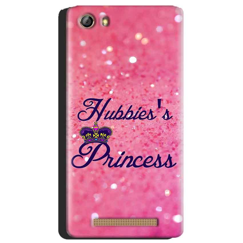 Gionee Marathon M5 Mobile Covers Cases Hubbies Princess - Lowest Price - Paybydaddy.com