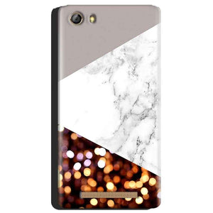 Gionee Marathon M5 Mobile Covers Cases MARBEL GLITTER - Lowest Price - Paybydaddy.com
