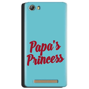 Gionee Marathon M5 Mobile Covers Cases Papas Princess - Lowest Price - Paybydaddy.com