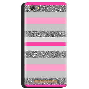 Gionee Marathon M5 Mobile Covers Cases Pink colour pattern - Lowest Price - Paybydaddy.com