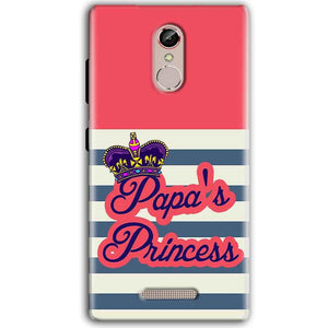 Gionee S6S Mobile Covers Cases Papas Princess - Lowest Price - Paybydaddy.com