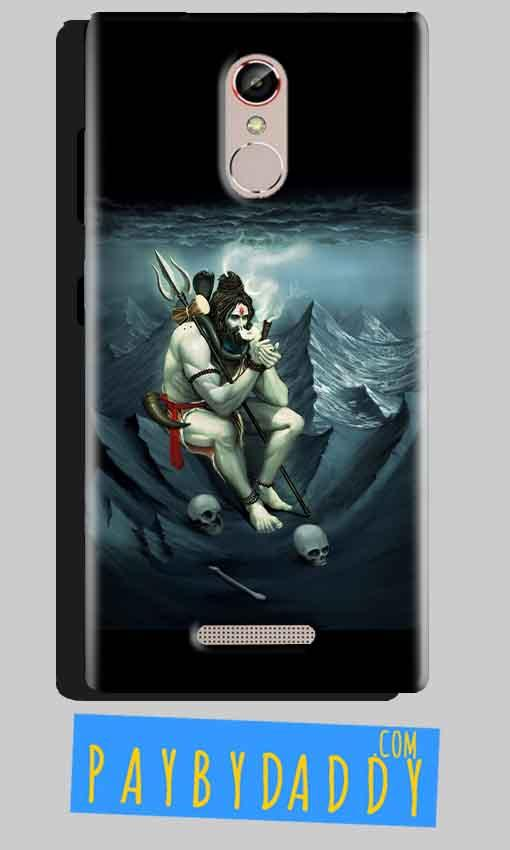 Gionee S6S Mobile Covers Cases Shiva Smoking - Lowest Price - Paybydaddy.com