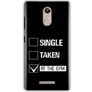 Gionee S6S Mobile Covers Cases Single Taken At The Gym - Lowest Price - Paybydaddy.com