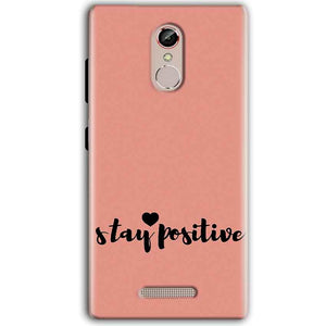 Gionee S6S Mobile Covers Cases Stay Positive - Lowest Price - Paybydaddy.com
