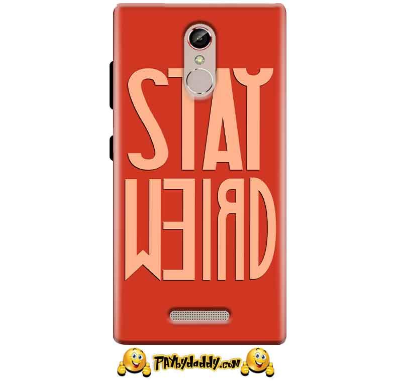 Gionee S6S Mobile Covers Cases Stay Weird - Lowest Price - Paybydaddy.com