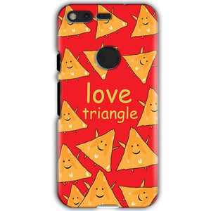 Google Pixel XL Mobile Covers Cases Love Triangle - Lowest Price - Paybydaddy.com