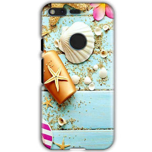 Google Pixel XL Mobile Covers Cases Pearl Star Fish - Lowest Price - Paybydaddy.com
