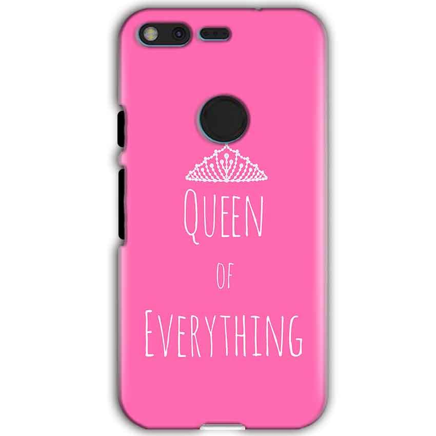 Google Pixel XL Mobile Covers Cases Queen Of Everything Pink White - Lowest Price - Paybydaddy.com