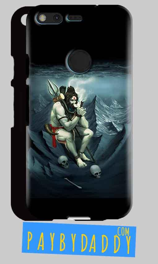 Google Pixel XL Mobile Covers Cases Shiva Smoking - Lowest Price - Paybydaddy.com