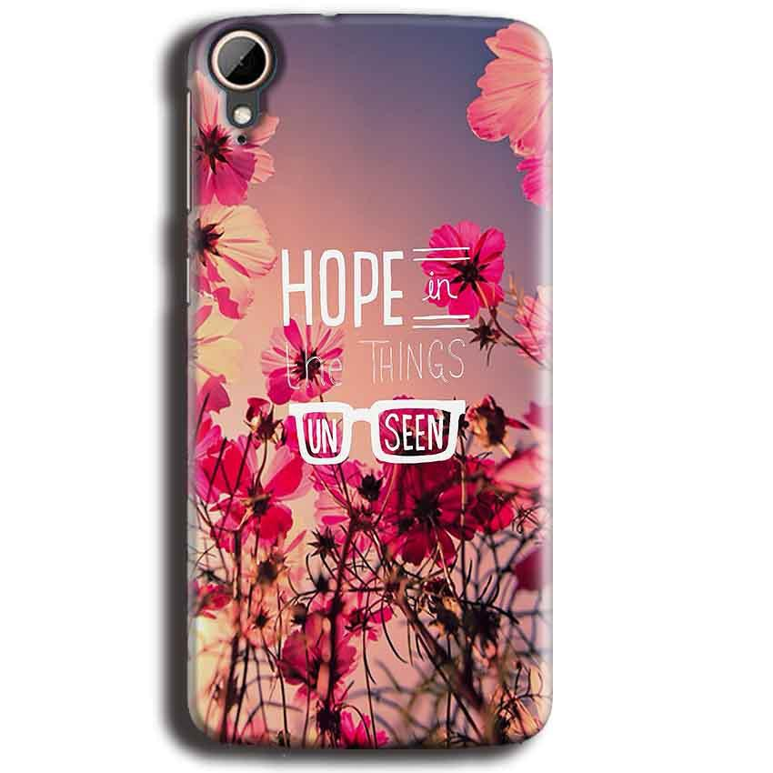 HTC Desire 828 Mobile Covers Cases Hope in the Things Unseen- Lowest Price - Paybydaddy.com