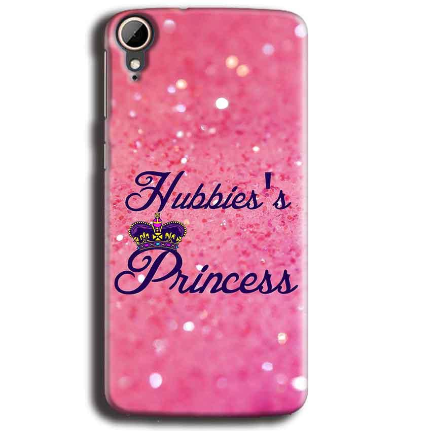 HTC Desire 828 Mobile Covers Cases Hubbies Princess - Lowest Price - Paybydaddy.com