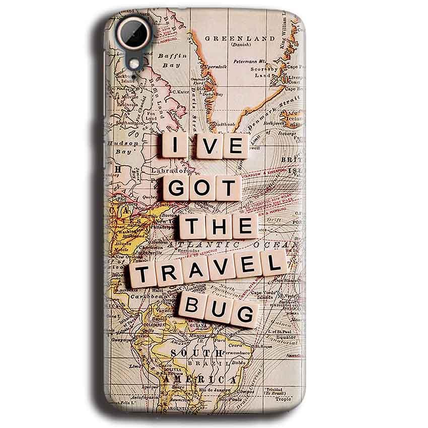 HTC Desire 828 Mobile Covers Cases Live Travel Bug - Lowest Price - Paybydaddy.com