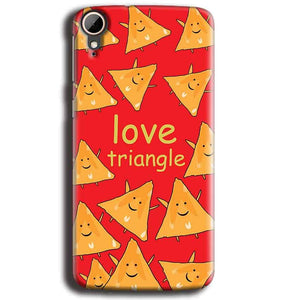 HTC Desire 828 Mobile Covers Cases Love Triangle - Lowest Price - Paybydaddy.com