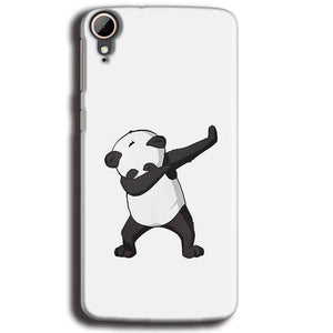 HTC Desire 828 Mobile Covers Cases Panda Dab - Lowest Price - Paybydaddy.com