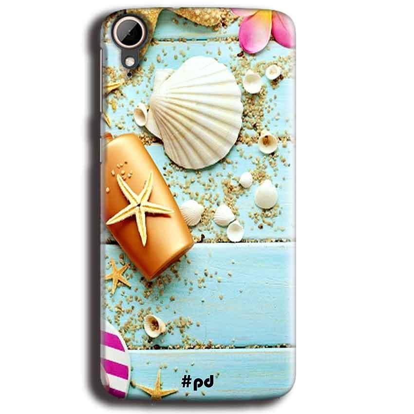 HTC Desire 828 Mobile Covers Cases Pearl Star Fish - Lowest Price - Paybydaddy.com