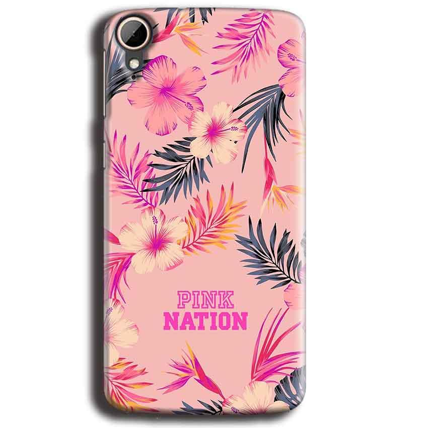HTC Desire 828 Mobile Covers Cases Pink nation - Lowest Price - Paybydaddy.com