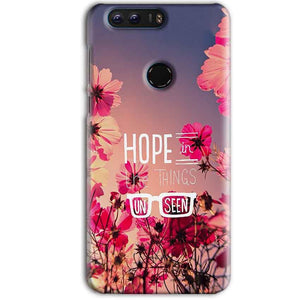 Huawei Honor 8 Pro Mobile Covers Cases Hope in the Things Unseen- Lowest Price - Paybydaddy.com
