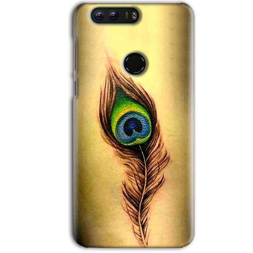 Huawei Honor 8 Pro Mobile Covers Cases Peacock coloured art - Lowest Price - Paybydaddy.com