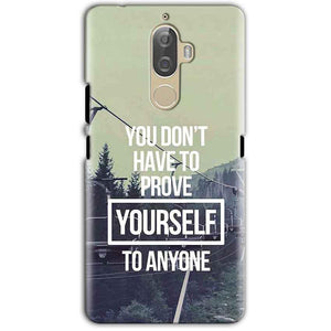Lenovo K8 Note Mobile Covers Cases Donot Prove yourself - Lowest Price - Paybydaddy.com