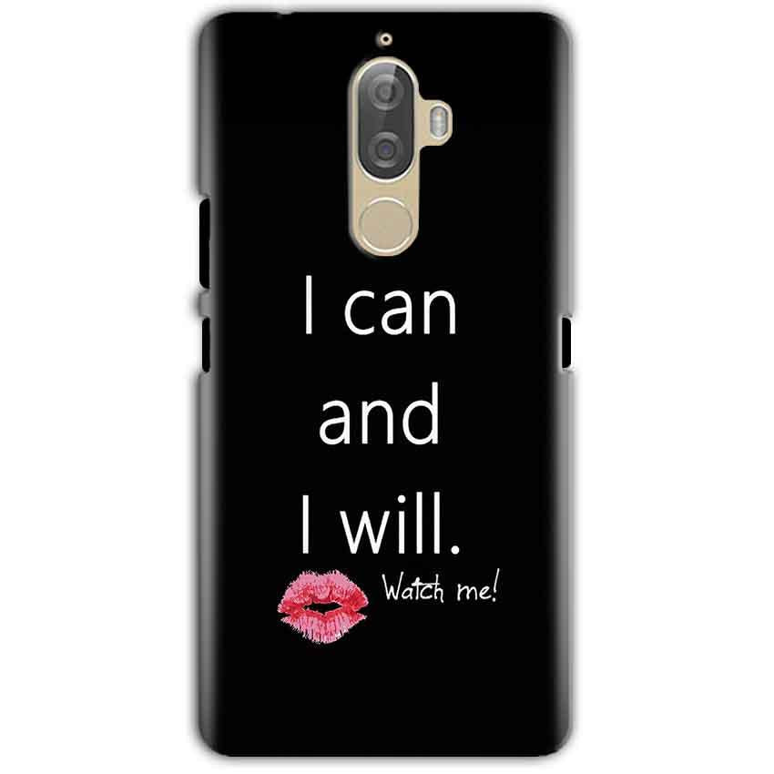 Lenovo K8 Note Mobile Covers Cases i can and i will Lips - Lowest Price - Paybydaddy.com