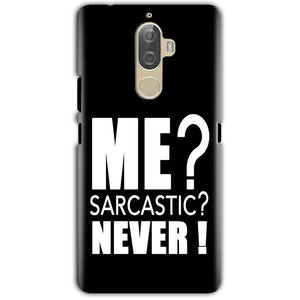 Lenovo K8 Note Mobile Covers Cases Me sarcastic - Lowest Price - Paybydaddy.com