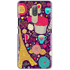Lenovo K8 Note Mobile Covers Cases Paris Sweet love - Lowest Price - Paybydaddy.com