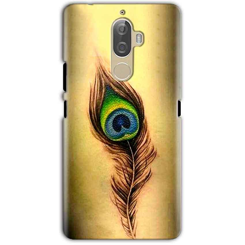 Lenovo K8 Note Mobile Covers Cases Peacock coloured art - Lowest Price - Paybydaddy.com