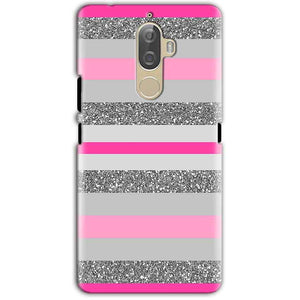Lenovo K8 Note Mobile Covers Cases Pink colour pattern - Lowest Price - Paybydaddy.com