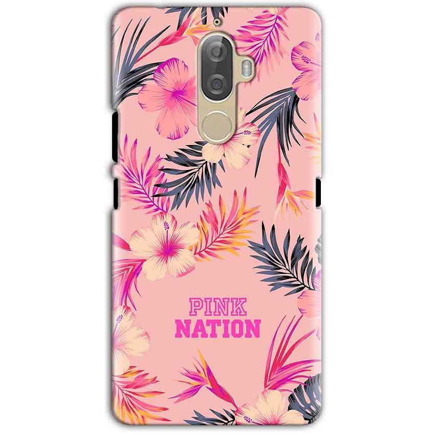 Lenovo K8 Note Mobile Covers Cases Pink nation - Lowest Price - Paybydaddy.com