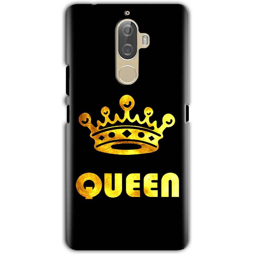 Lenovo K8 Note Mobile Covers Cases Queen With Crown in gold - Lowest Price - Paybydaddy.com